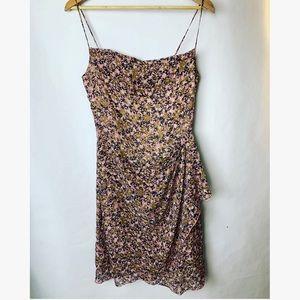BCBG Flowered Print Size 8 dress
